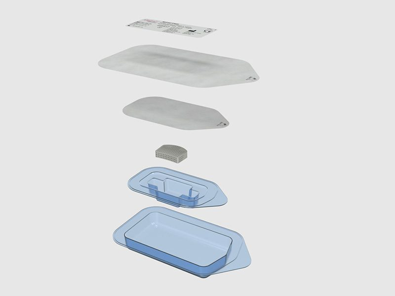 Allegra spinal cage trays