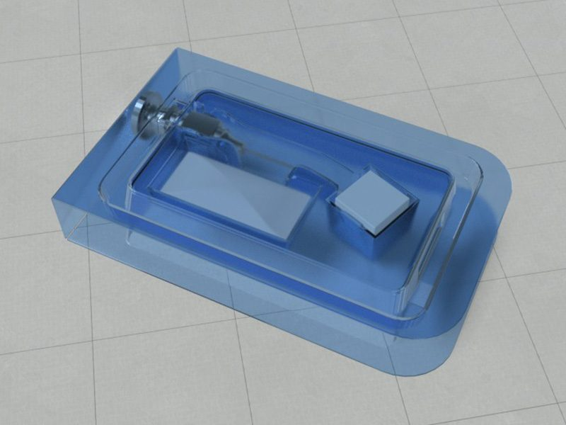 Curved Cannula tray