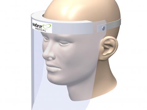Sabre Medical Face Shield